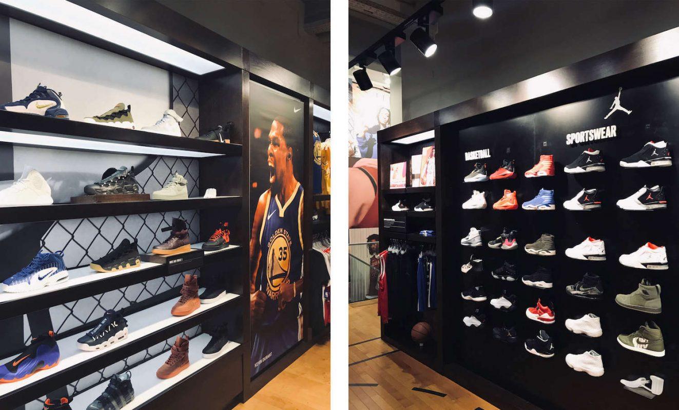 Шопинг-гайд по покупке кроссовок в Кёльне - магазин House of Hoops (Foto Locker)
