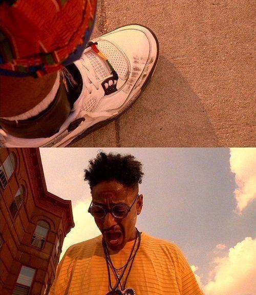 Кроссовки в кинематографе: знаковые сникер-моменты из кино - Air Jordan IV (4)