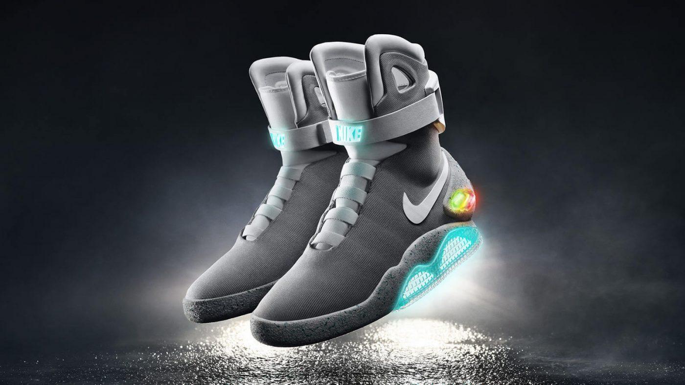 Сникер-девайсы: история компьютеризации кроссовок - Nike MAG