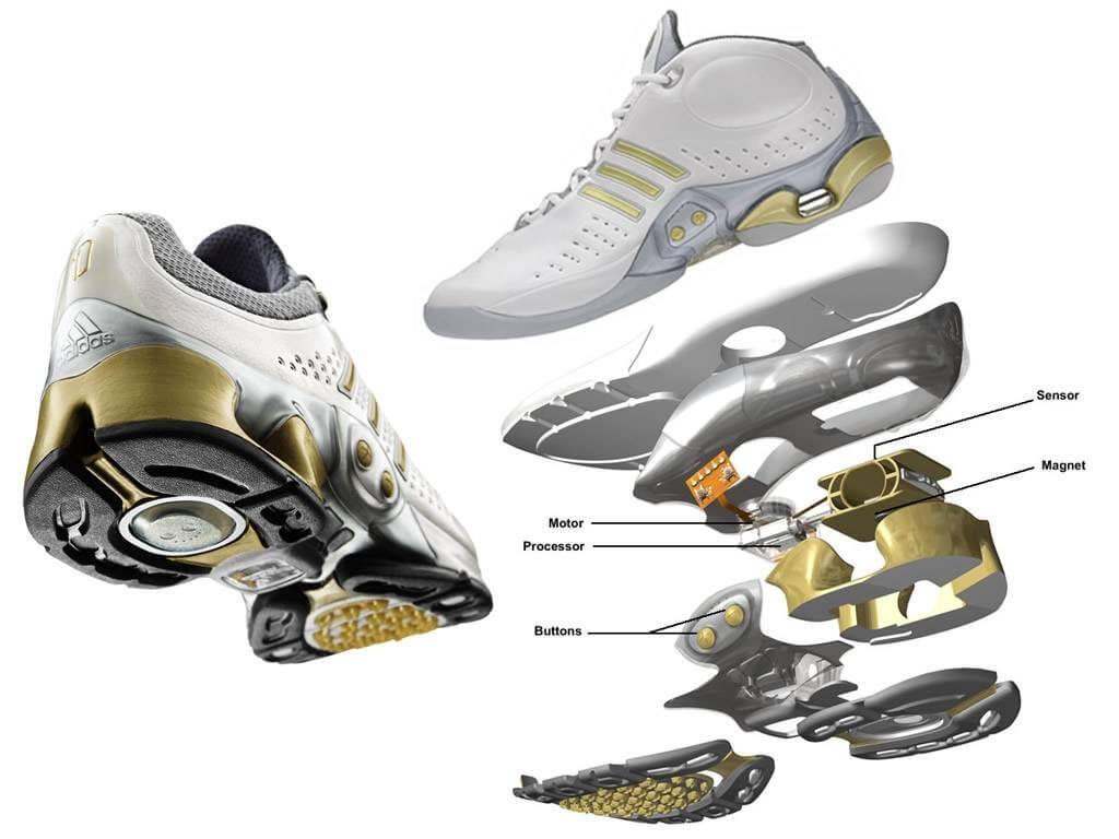 Сникер-девайсы: история компьютеризации кроссовок - Adidas 1 / Adidas 1 Basketball