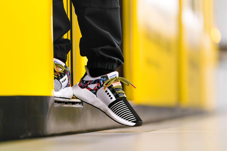 Сникер-девайсы: история компьютеризации кроссовок – Adidas x EQT Support 93 BVG