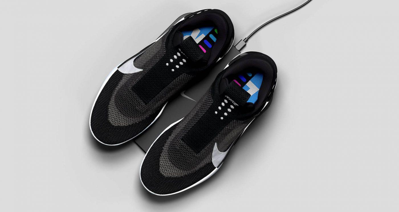 Сникер-девайсы: история компьютеризации кроссовок - Nike Adapt BB