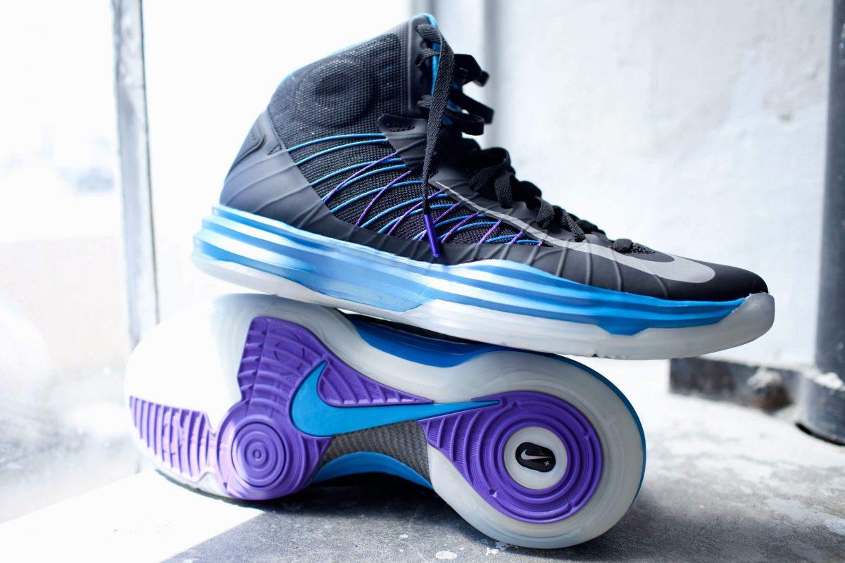 Сникер-девайсы: история компьютеризации кроссовок - Nike+ Hyperdunk
