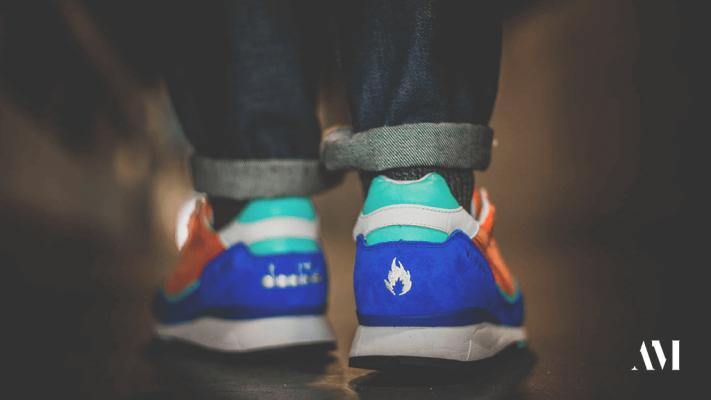 винтажные европейские бренды кроссовок