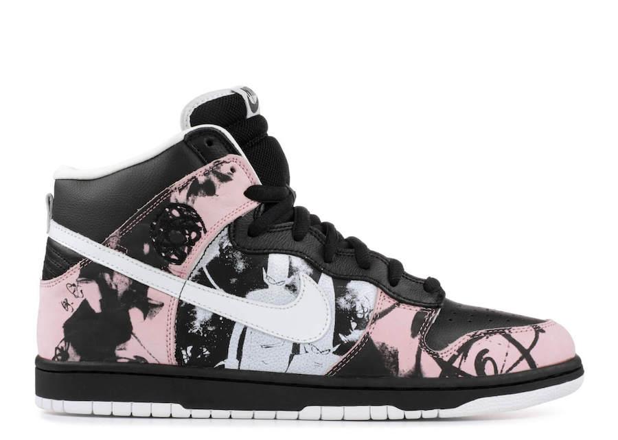 Прекрасное в обыденном: 11 современных художников и их работы для брендов кроссовок - Nike Dunk x Futura x UNKLE