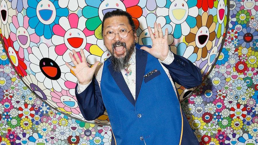 Прекрасное в обыденном: 11 современных художников и их работы для брендов кроссовок - Takashi Murakami