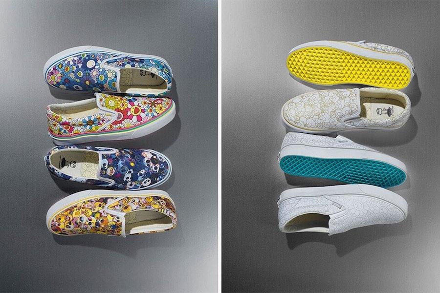 Прекрасное в обыденном: 11 современных художников и их работы для брендов кроссовок - Vans x Takashi Murakami