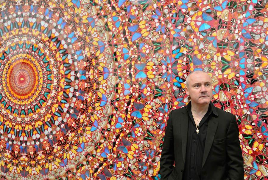Прекрасное в обыденном: 11 современных художников и их работы для брендов кроссовок - Damien Hirt