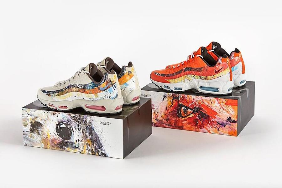 Прекрасное в обыденном: 11 современных художников и их работы для брендов кроссовок - Nike x Size? x Dave White
