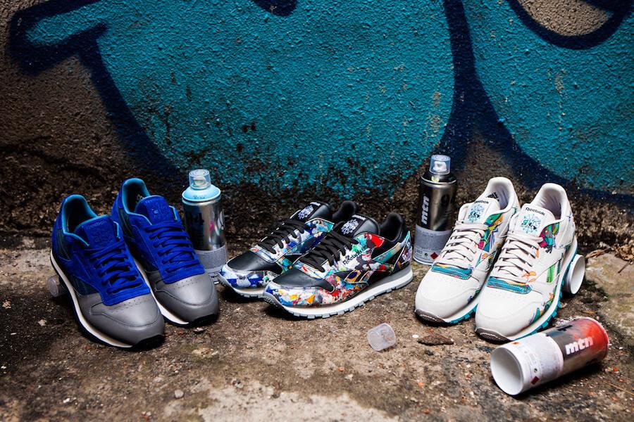 Прекрасное в обыденном: 11 современных художников и их работы для брендов кроссовок - Reebok City Classics / City Series