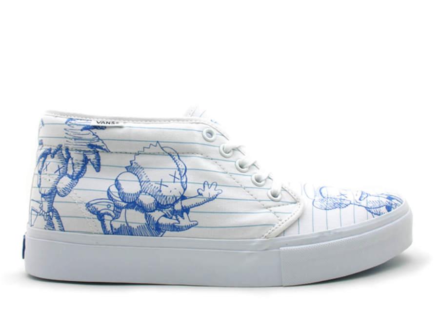 Прекрасное в обыденном: 11 современных художников и их работы для брендов кроссовок - Vans x KAWS