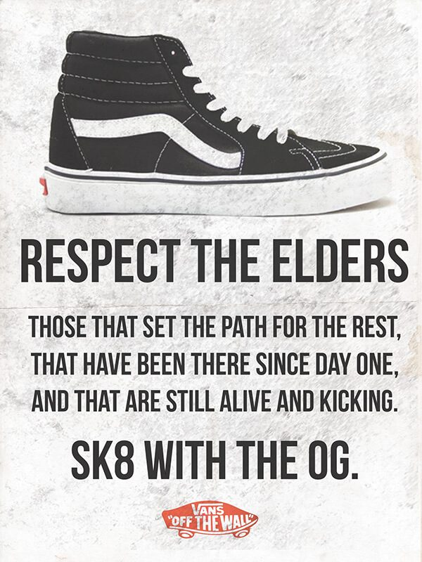 Легенда скейтбординга: история кед Vans Sk8-Hi
