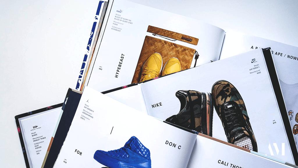 Сникер-библиотека TAF: обзор книг о кроссовках и стритвире
