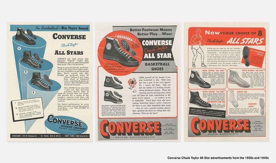 История Converse Chuck Taylor All Star, самых старых кед в мире
